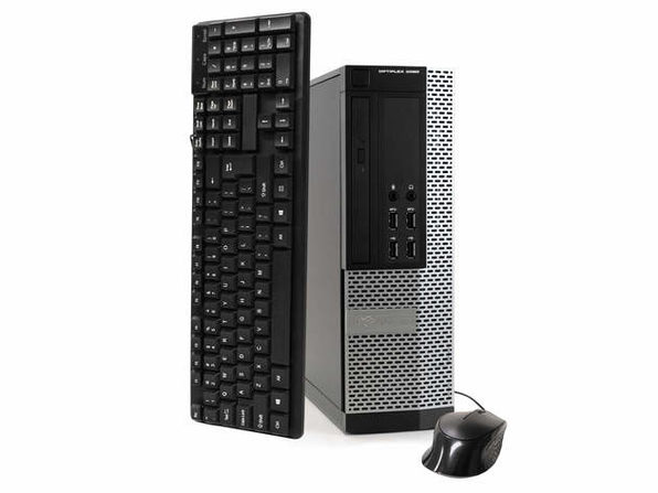 戴尔电脑 OptiPlex 9020台式电脑,3.2 GHz Intel i5四核Gen 4、16GB DDR3 RAM,2TB SATA HD,Windows 10 Home 64位(已更新)
