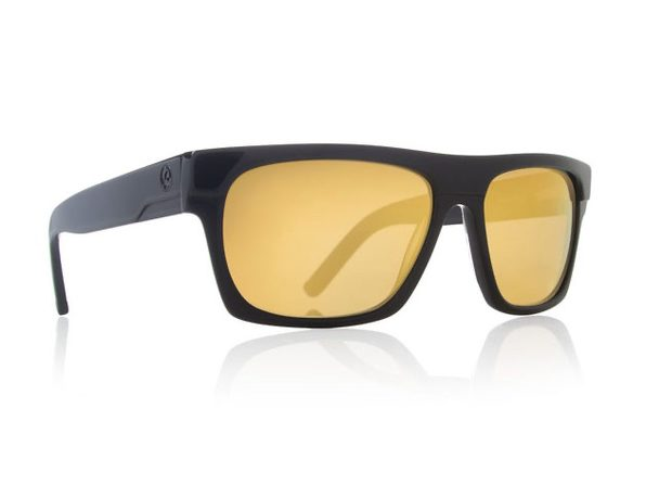 Dragon Alliance Viceroy Sunglasses Black Frames Gold Ion Lenses - Product Image