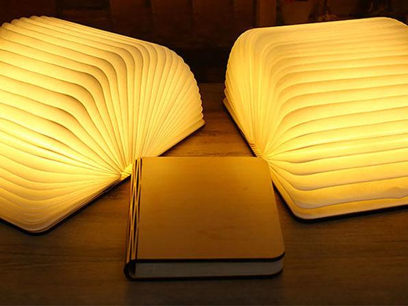 Oakwood Booklet Lamp