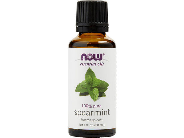 ESSENTIAL OILS NOW by NOW Essential Oils SPEARMINT OIL 1 OZ for UNISEX ---(Package Of 4)
