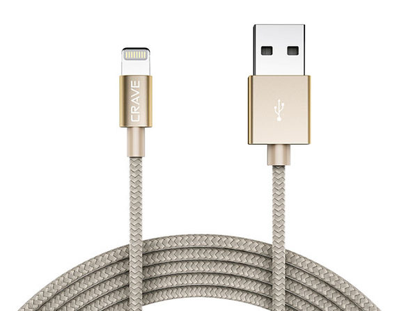 Crave 4Ft Apple MFi to USB Cable