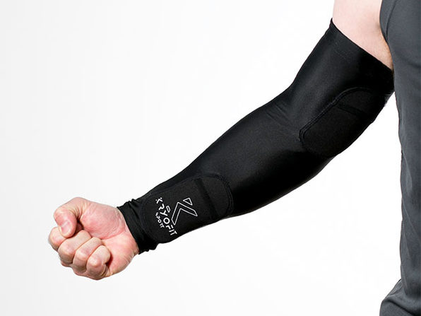 Dual Compression Full Arm Sleeves with Freeze Packs (XXL)