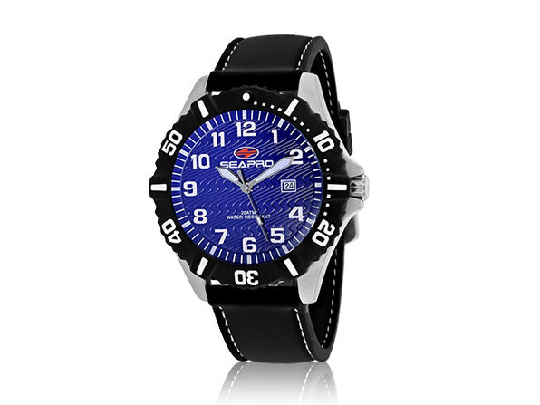 Seapro Men's Trooper Watch Blue/Black - Product Image