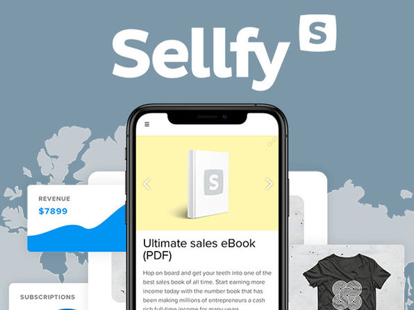 Sellfy Starter Plan: 2-Year Subscription