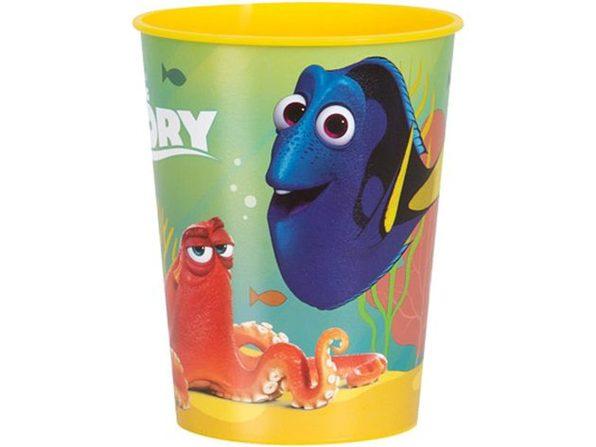 12X Finding Dory Plastic 16 Ounce Reusable Keepsake Favor Cup ( 12 Cups )
