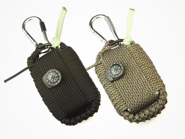 Z.A.P.S. Wilderness Survival Kit Grenade (Black)