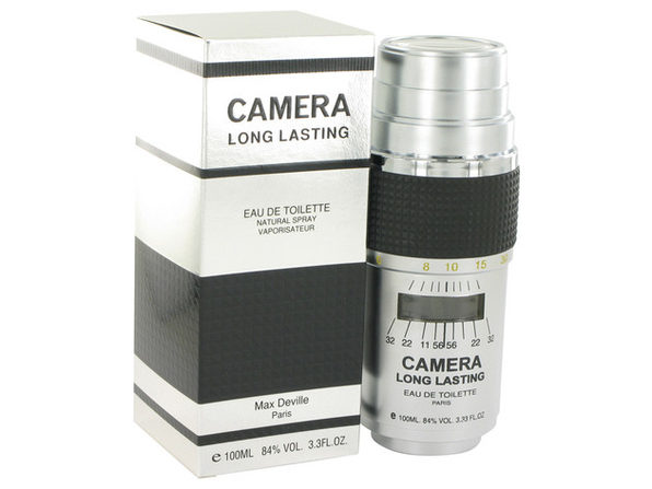 CAMERA LONG LASTING Eau De Toilette Spray 3.4 oz For Men 100% authentic perfect as a gift or just everyday use