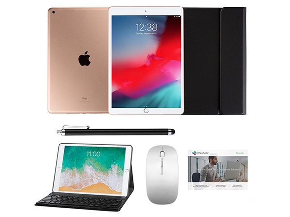 "iPad 10.2"" 8th Gen 32GB Gold Complete Gift Black Case/Stylus - Product Image"