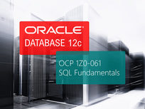 Oracle 12c OCP 1Z0-061: SQL Fundamentals - Product Image
