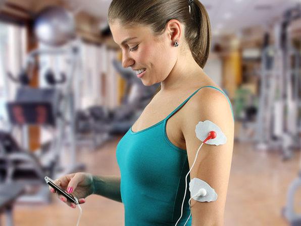 Digital Pulse Massager (Silver)