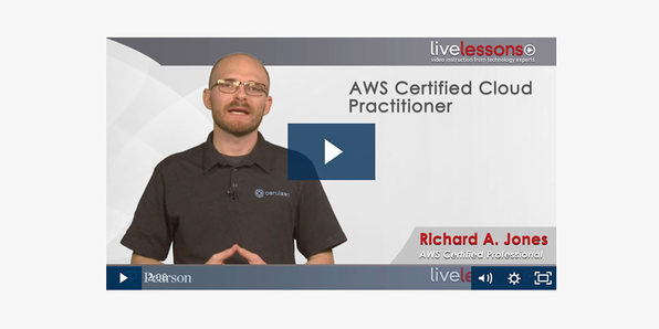 AWS Certified Cloud Practitioner Complete Video Course - Product Image