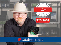 CompTIA A+ Core 1 (220-1001) Prep Course: Basic IT Infrastructure - Product Image