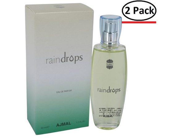 Ajmal Raindrops by Ajmal Eau De Parfum Spray 1.7 oz for Women (Package of 2) - Product Image