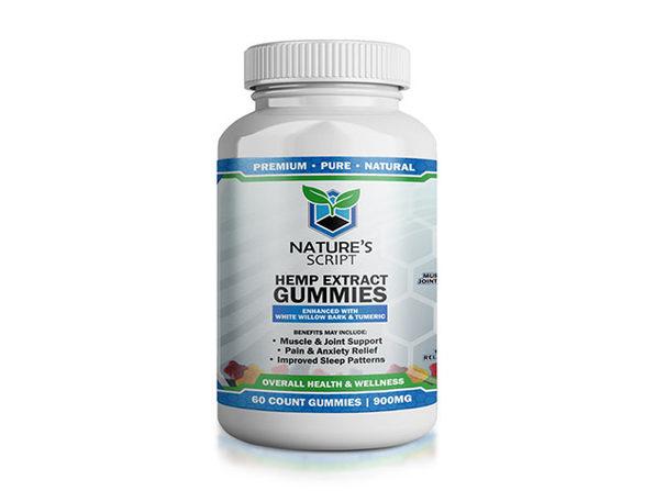 CBD Hemp Extract Gummies (60-Count)