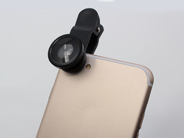 5-in-1 Clip & Snap Smartphone Camera Lenses