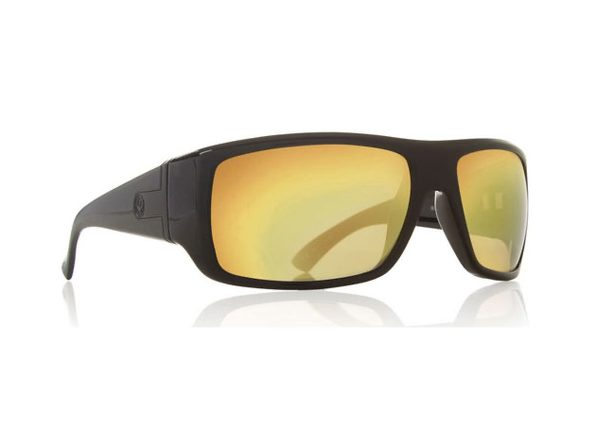 Dragon Alliance Vantage Sunglasses Black Frames Gold Ion Lenses - Black