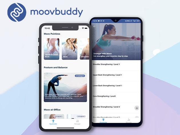 Stack Social Deal for MoovBuddy Exercise App: Lifetime Subscription