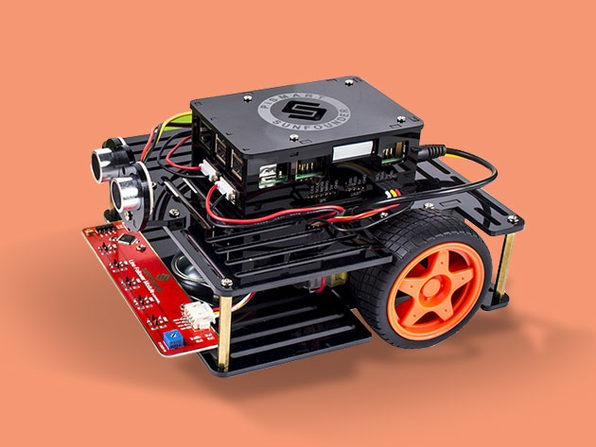 Raspberry Pi 3 + Speech Controlled Smart Robot Car Kit