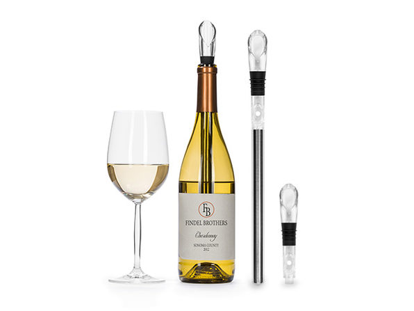 Stainless Steel Wine Chilling Aerator