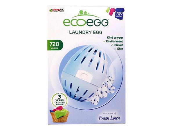 Ecoegg™ Bundle: Laundry Egg + Dryer Egg + Mega Detox Tab (Fresh Linen)