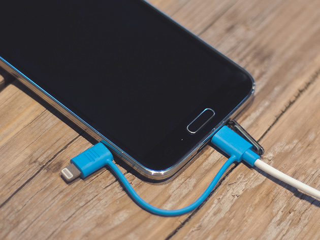 Normally $80, this 2-pack of charging cables is 79 percent off