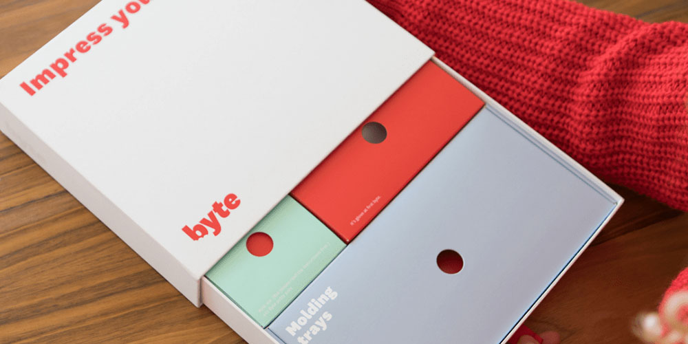 Voucher for byte® Aligner Impression Kit, on sale for $21.21 when you use coupon code MERRY15 during checkout