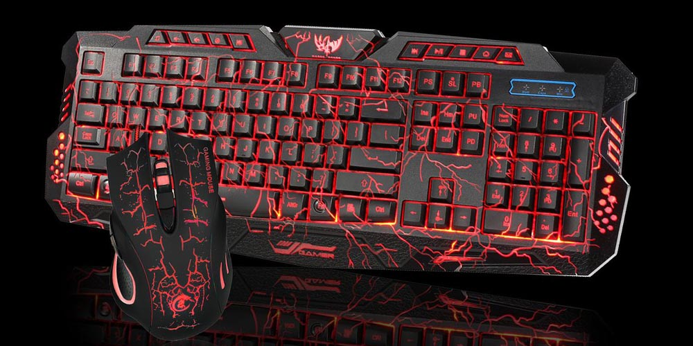 Thunder Fire 2.4G Gaming Keyboard & Mouse Set on sale for 53% off at $53.99