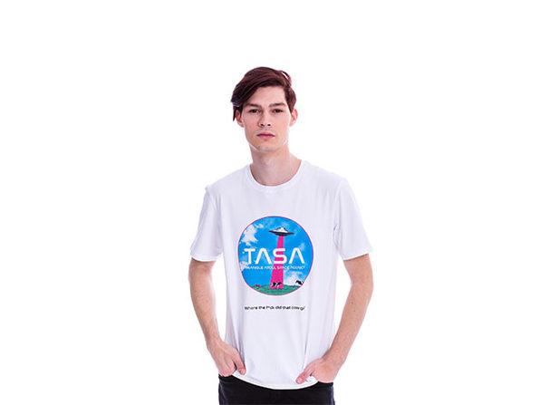 Animated TASA White T-Shirt (XS)