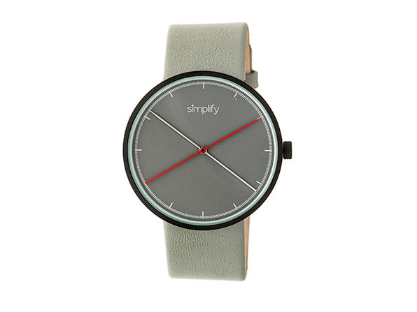 Simplify 4100 Unisex Watch (Grey/Black)
