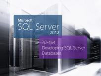 Microsoft 70-464: Developing Microsoft SQL Server 2012 Database - Product Image