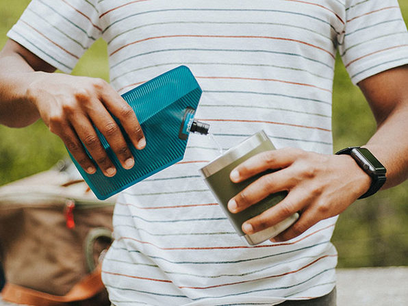 Vapur® 300ml Incognito Flask: Bundle of 2 (Teal + Midnight Blue)