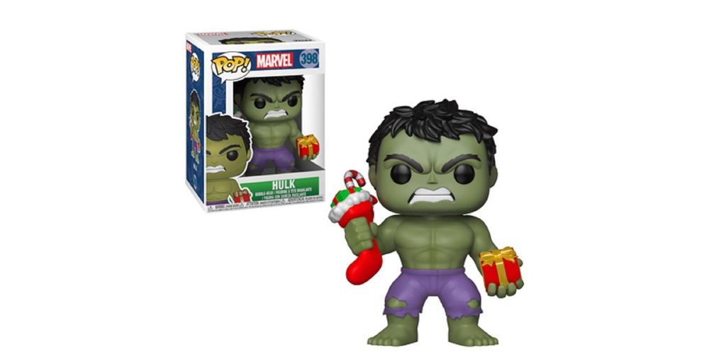 Funko POP – Marvel Holiday – Hulk – Vinyl Collectible Figure – w Stocking, on sale for $14.94 (9% off)