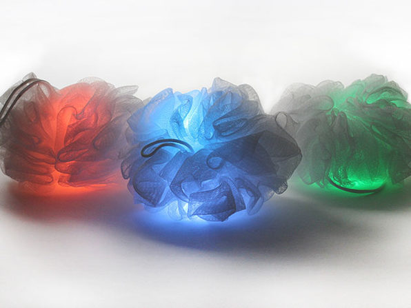 illumiScrub Light-Up Loofah