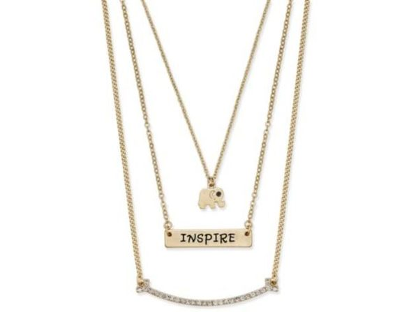 Inspired Life Multi-Layer Pendant Necklace - Inspire Message
