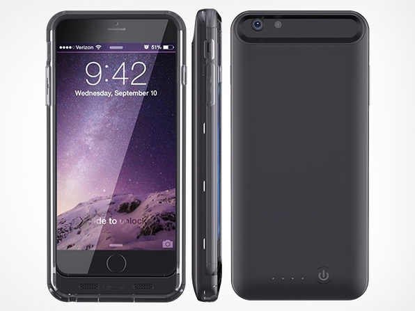 iPhone 6+ Premium Covering Extended Battery 4000 mAh - Product Image