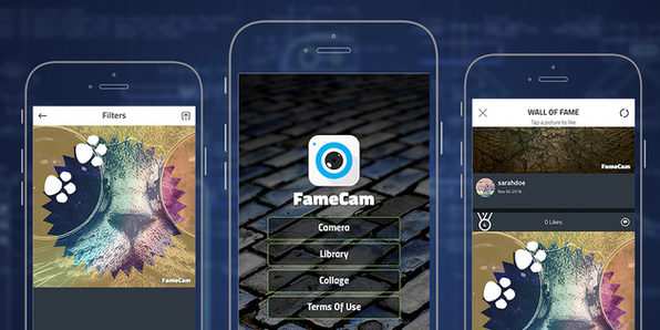 FameCam: iOS 10 Social Photo App Template - Product Image