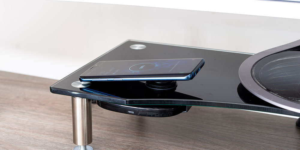Hudly Invisible Wireless Charger, on sale for $59.49 when you use coupon code PREZ2021 at checkout