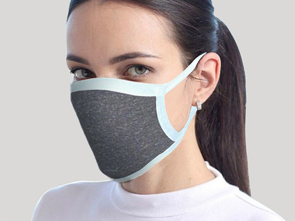 Reusable Face Mask 8-Pack Gray - Product Image
