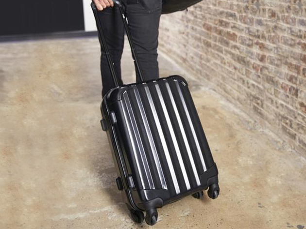 This carry-on rolling suitcase provide great value