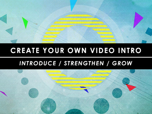 How to Create Your Own Video Intro - Product Image