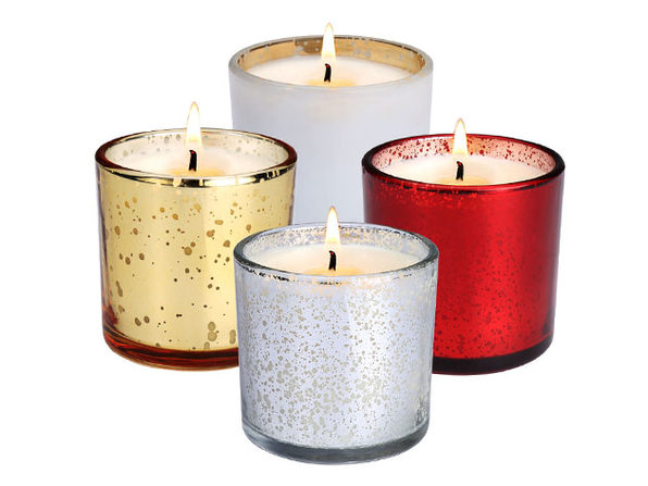 LANGRIA Soy Wax Scented Candles (Aromatherapy/ Set of 4)