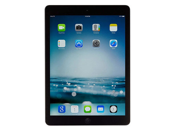 "Apple iPad Air 9.7"" 16GB WiFi (Certified Refurbished)"