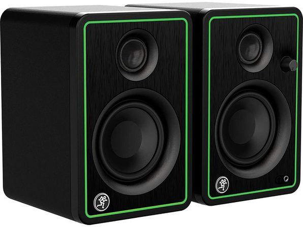 "Mackie CR3-XBT Series, 3"" Multimedia Monitors, Professional Studio-Quality Sound (Used, Damaged Retail Box)"
