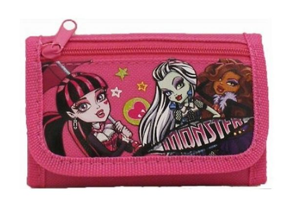 Wallet - Monster High - Hot Pink