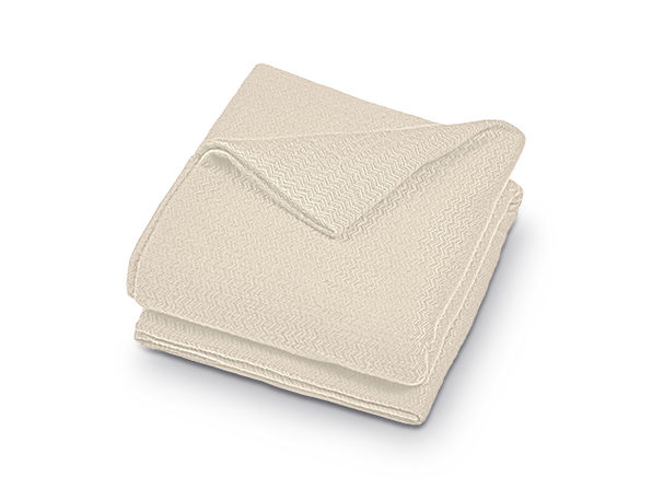 Bibb Home Luxury Cotton Thermal Throw Blanket