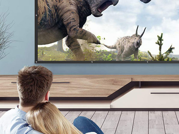 "TaoTronics 120"" 16:9 Projector Screen"