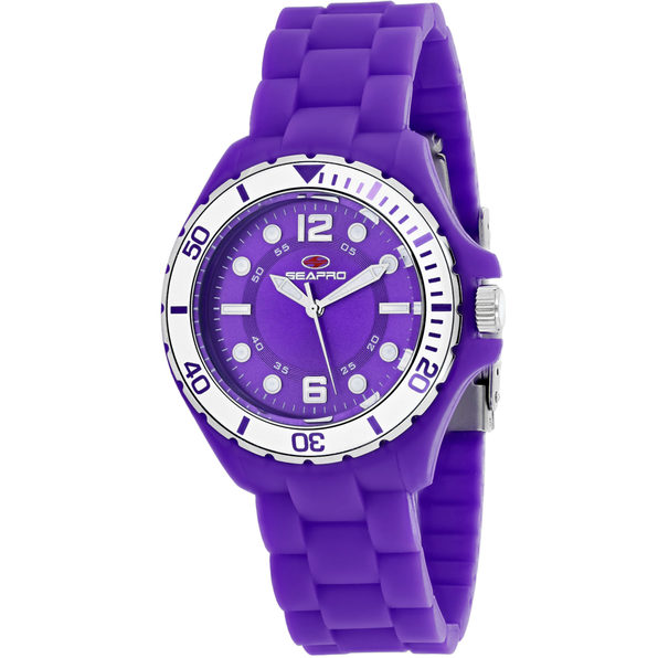 Seapro Women's Spring Purple Dial Watch - SP3216 - Product Image