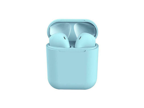 i12 TWS Wireless Bluetooth 5.0 Earphones (Blue)