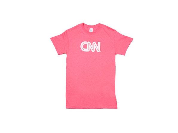 CNN Basic Tee (Pink/XL)