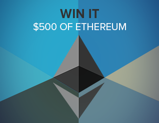 Giveaway ethereum ad unit